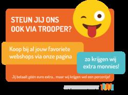 Steun ons op Trooper