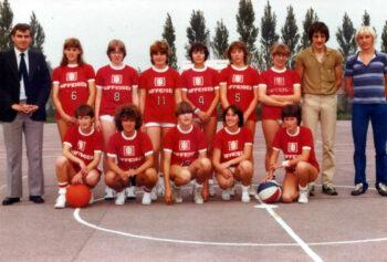 Basketbal Meisjes 1982